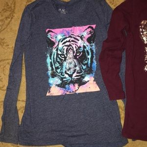 Children's Place Shirts & Tops - 2 Long Sleeve Tops